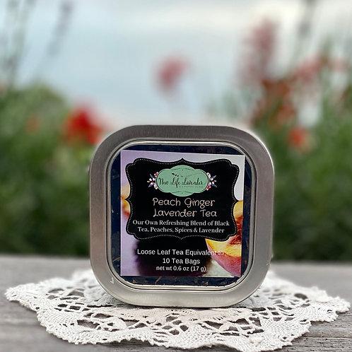 Peach Ginger Lavender Tea