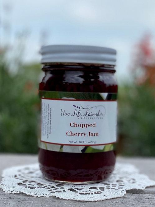 Chopped Cherry Jam (16 oz)