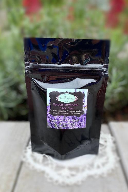 Spiced Lavender Chai Tea