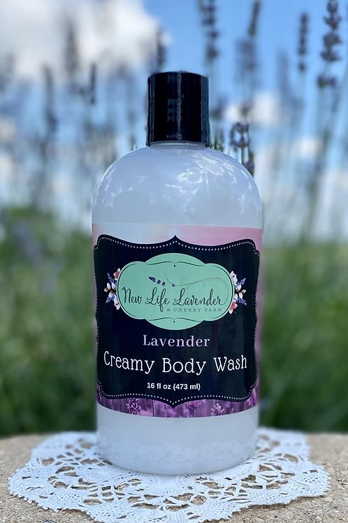 Creamy Lavender Body Wash