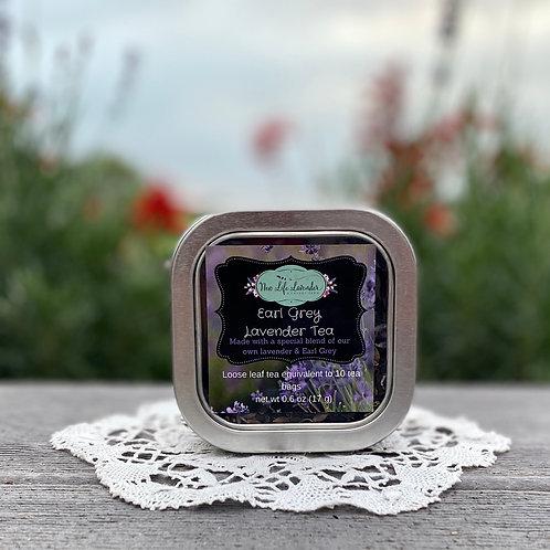 Earl Grey Lavender Tea loose leaf
