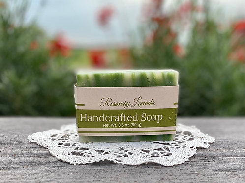 Rosemary Lavender Handcrafted Soap
