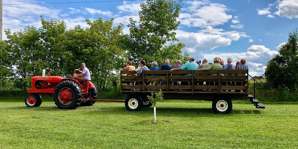Sunset Wagon Ride Farm Tour