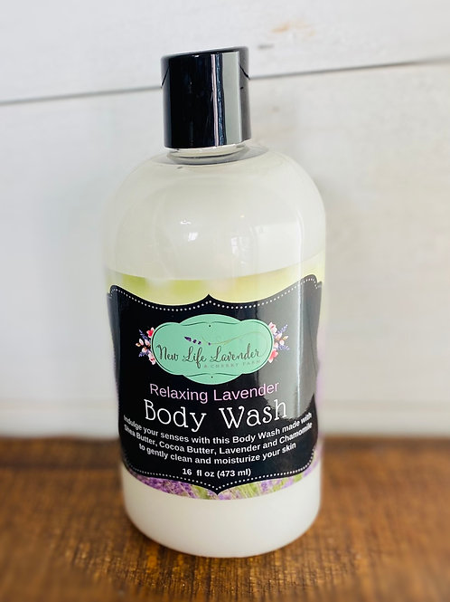 Relaxing Lavender Body Wash
