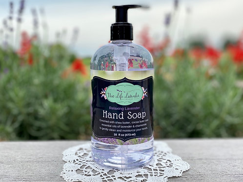Relaxing Lavender Hand Soap