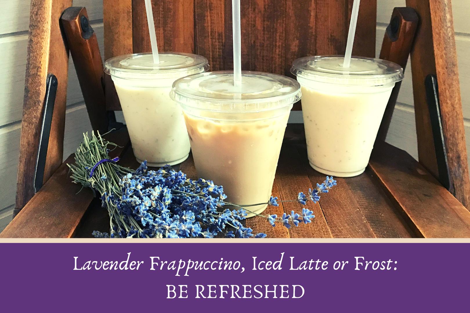 Lavender drinks