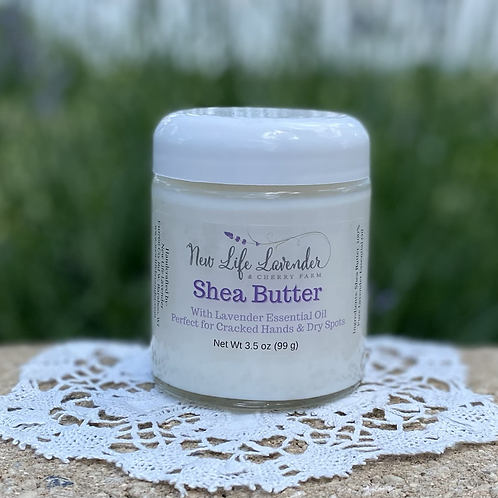 Shea Butter with Lavender essential oil