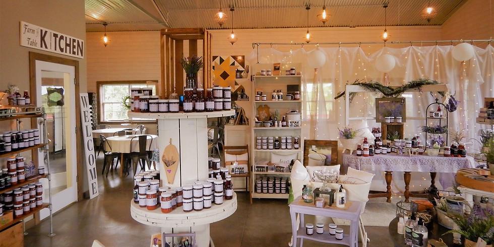 Vintage Shop Hop at New Life Lavender & Cherry Farm