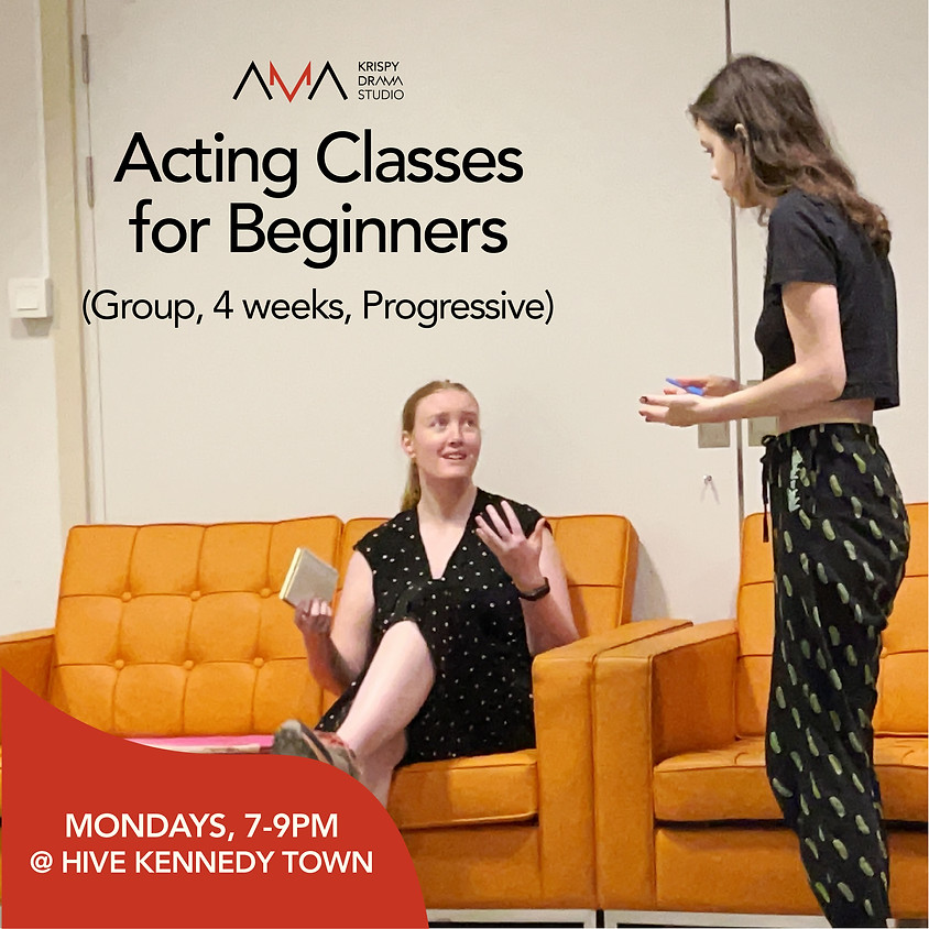 Acting Classes for Beginners | Aug
