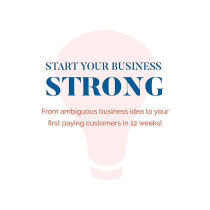 Start Your Business Strong