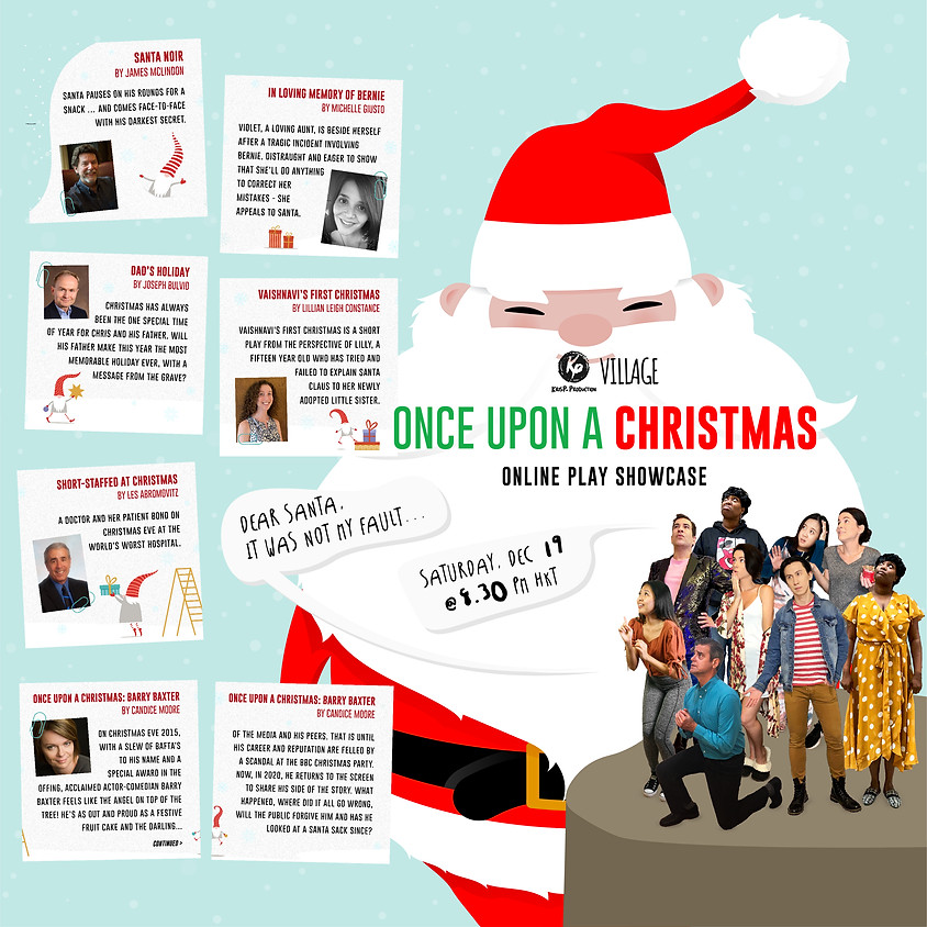 Once Upon A Christmas Online Showcase