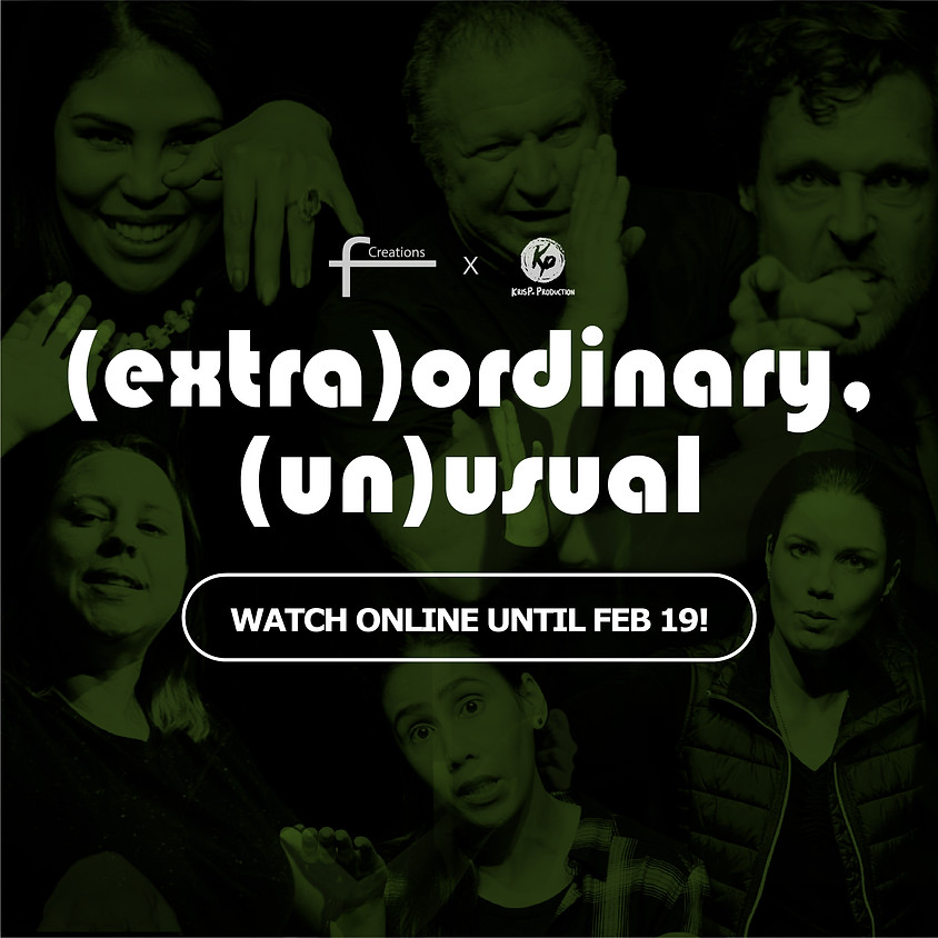 Watch: (extra)ordinary, (un)usual