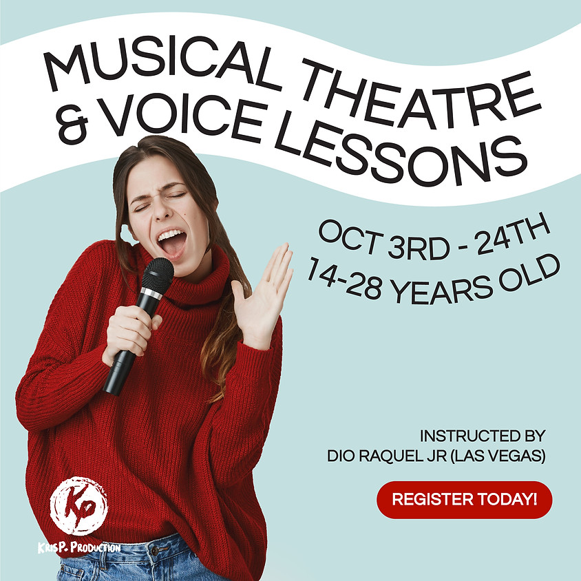 Musical Theatre & Voice Lessons — Batch 2