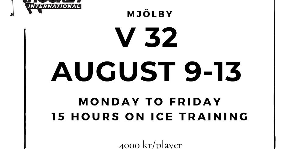 Week 32 Mjölby Skills Sessions