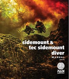 PADI Sidemount and Tec Sidemount