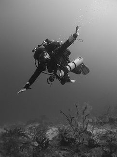 Technical Diver on St. Croix