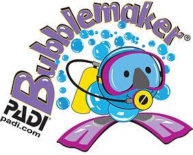 padi bubble maker logo