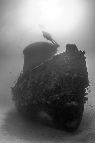 wreck diving in st. croix