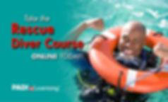 rescue diver certification course