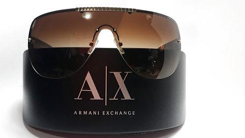 Armani Exchange Lentes Cafe-Oro