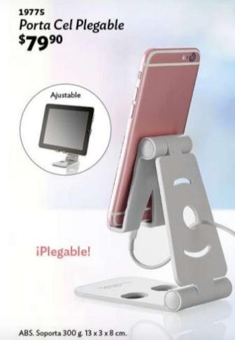 Porta Celular Plegable