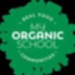 my organic school logo