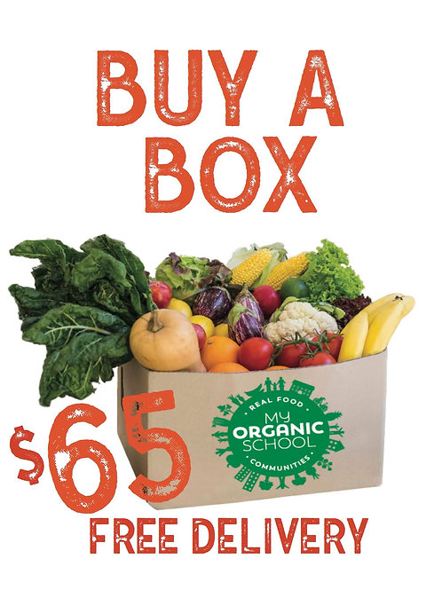 $65 organicfruit & vege box inc home delivery