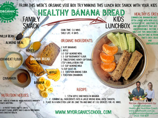 Healthy Organic Banana Bread
