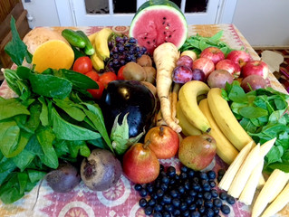 Our last Organic Fruit & Vege box of the term was an absolute cracker!