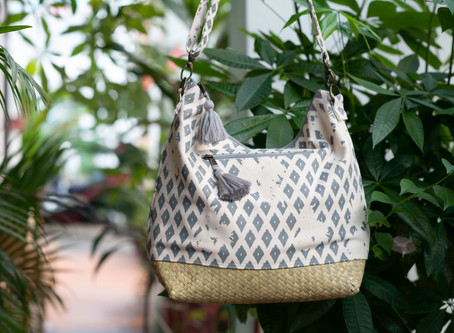 Cotton Canvas & Sea Grass Story | accessories