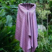 Lao silk shawl 'Soysa'