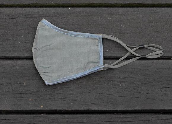 Silk Mask 'Plain' | Light Moss