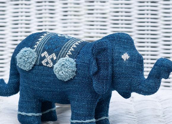 Indigo Elephant (M) | Dark Indigo