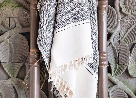 Cotton Blanket | Dark Charcoal