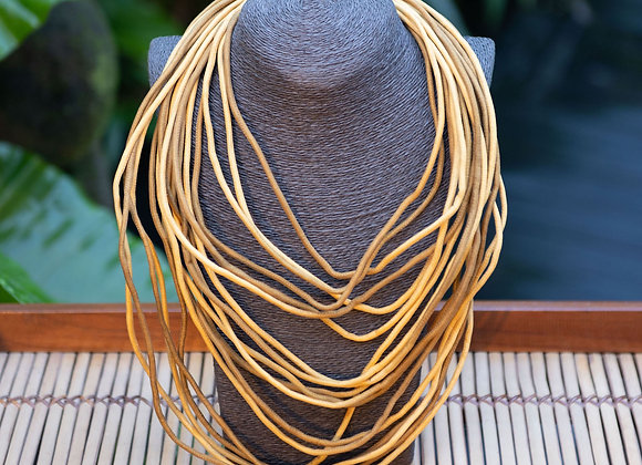 Silk String Necklace | Canary