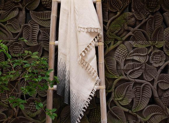 Cotton Blanket | 'Lines' Black&White