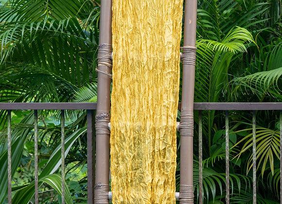 Silk Organza Scarf 'Plain'   Canary