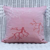 Silk Pillow 'Corals'