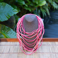 Silk String Necklace