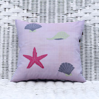 Silk Organza Pillow 'Starfish'