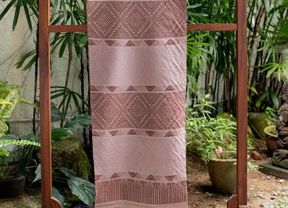 Master Weaver 'Phou Tai' | Sweet Pink Dark