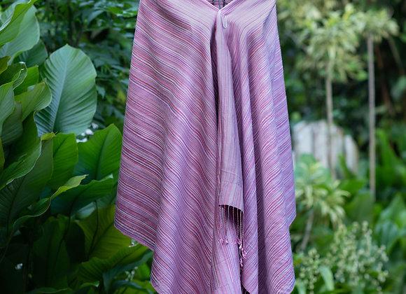 Silk Shawl/Trow 'Soysa' | Heather