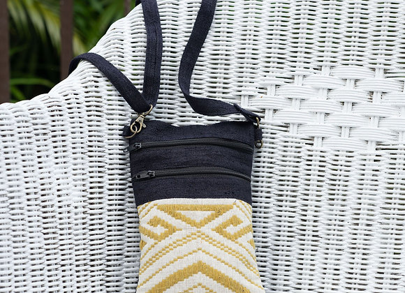 Small Pochet Bag with 2 zippers