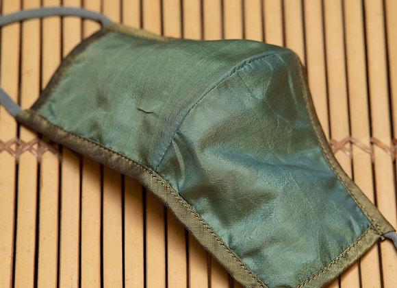 Silk Mask Plain | Leaf Green