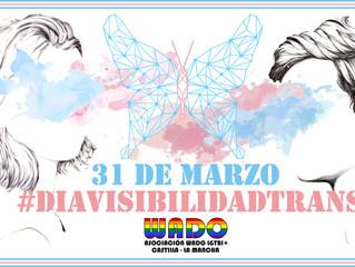Manifiesto Día Internacional de la Visibilidad TRANS 2018 de Asociación WADO LGTBI+