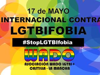 MANIFIESTO 17 mayo 2018 Día Internacional Contra la LGTBIFobia