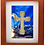 Thumbnail: Bronze Cross with Stations Sculptutre Shadow Box