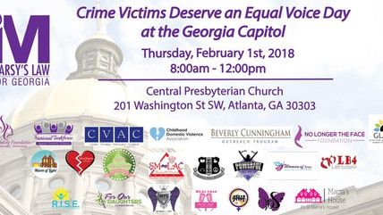 Support Marsy's Law and Victim's Advocacy
