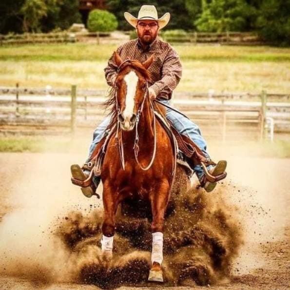 Justin Henderson Reining Clinic
