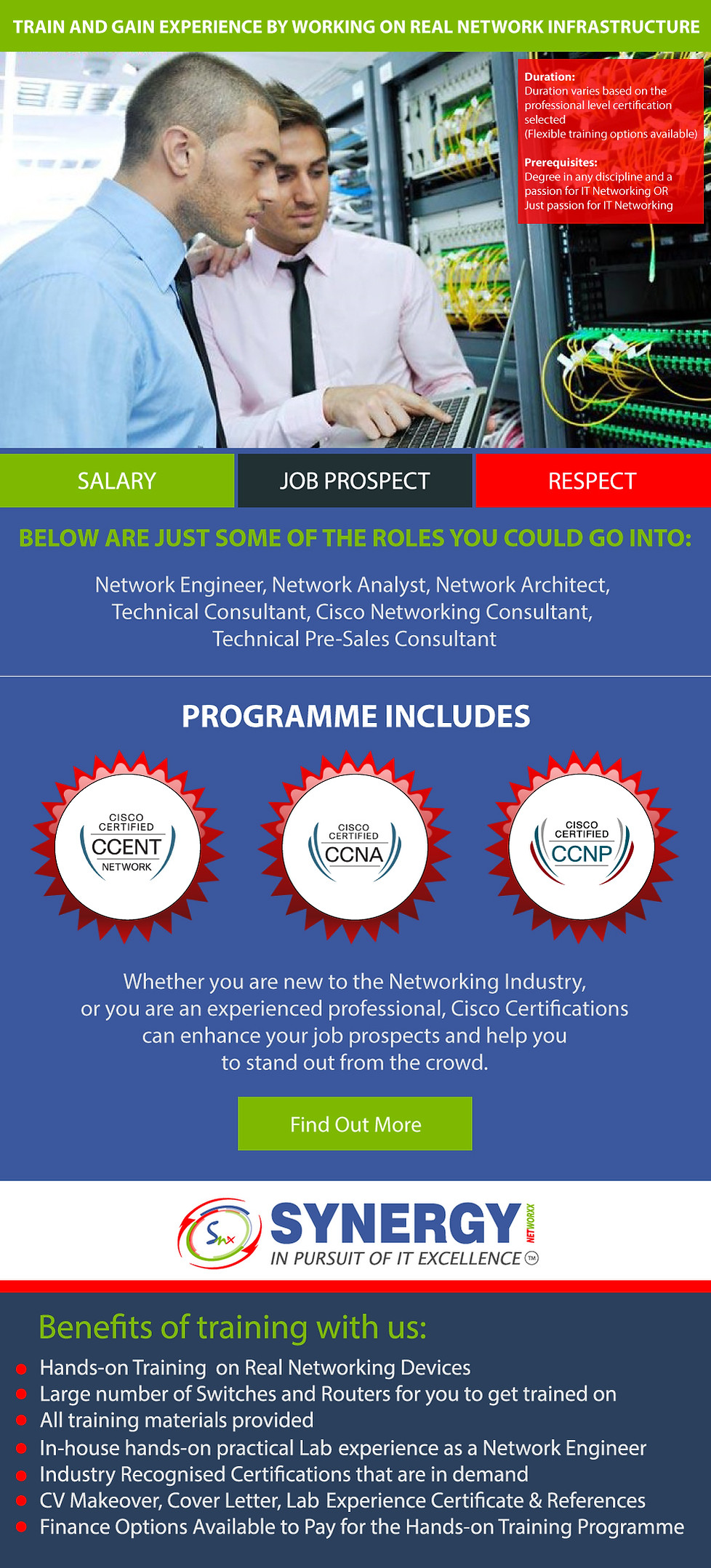 cisco network training london